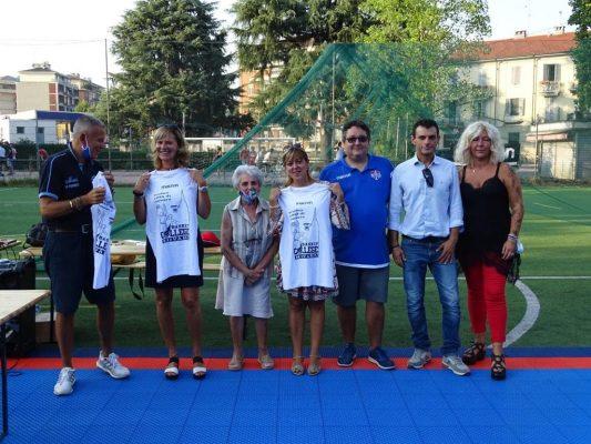 Premiazioni Primo Trofeo Città di Novara College Basket