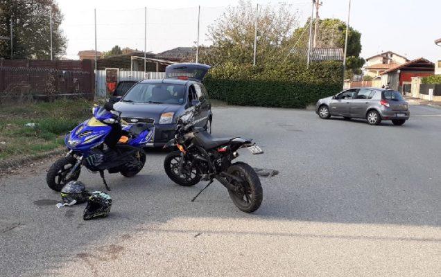 motociclisti sequestro spericolati Polizia Locale Novara