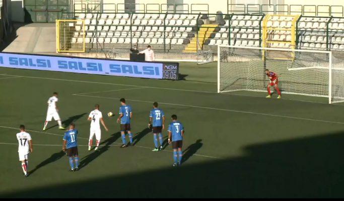 Pro Vercelli Novara 1-0 derby serie C Lega Pro