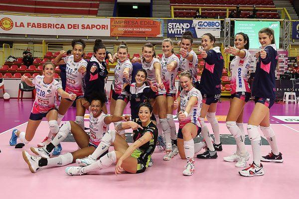 Unet E-Work Busto Arsizio Igor Volley Novara 0-3