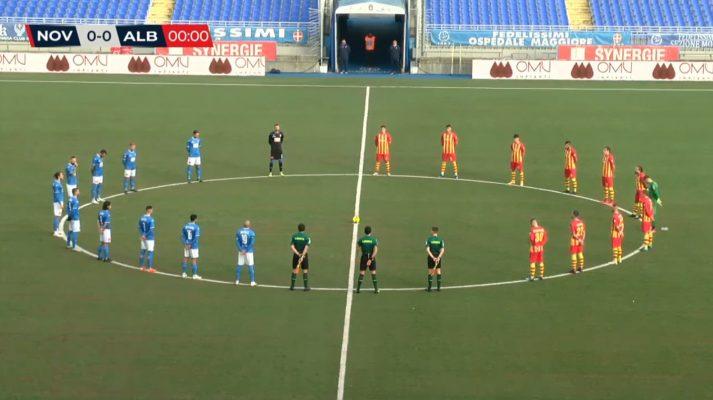 Novara Albinoleffe 0-0 fideiussione contestazione Nuares Rullo