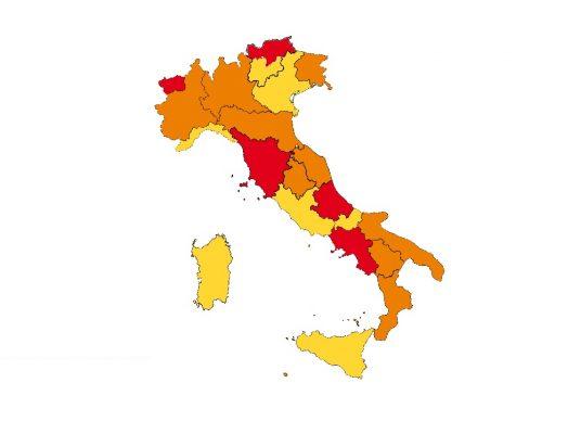 """Da domenica Piemonte zona Arancione. Cirio:""""La strada è quella giusta, con responsabilità e prudenza"""""""