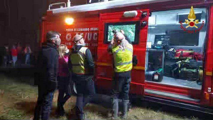 Ritrovato dai soccorritori e sta discretamente, l'uomo scomparso ieri nelle campagne di Momo
