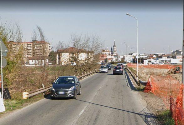 lavori senso unico via Biandrate Novara