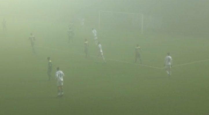 Pergolettese-Novara 2-0: gli azzurri si perdono nella nebbia e scivolano verso il fondo classifica