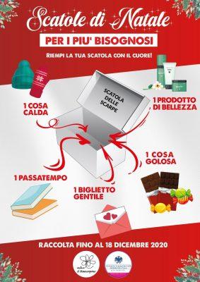 Scatole di Natale Novara Gruppo Terziario Donne Confcommercio Altopiemonte Associazione Il Biancospino