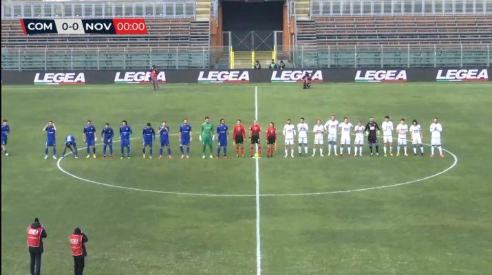 Como Novara 1-0 serie C Lega Pro