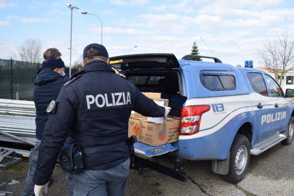 La Polizia di Novara sequestra 50 kg di fuochi artificiali modificati per aumentarne il potenziale esplodente