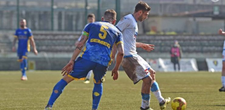 Carrarese-Novara 1-2 serie C girone A Caccavallo Zunno Corsinelli