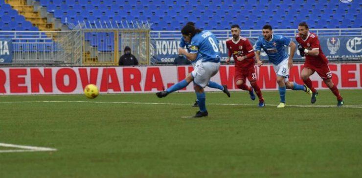 Novara Alessadria 2-1 derby Piemonte quadrilatero