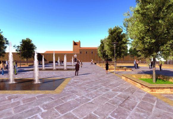 Lions progetto pedonale piazza Martiri Novara