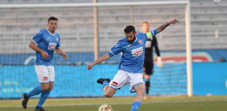 Novara Piacenza 2-0 serie C Lega Pro salvezza