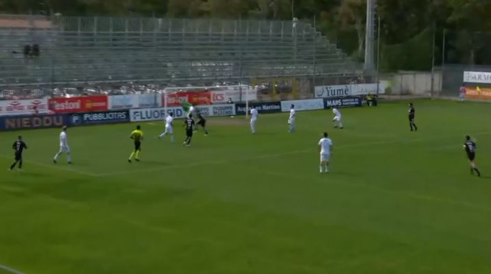 Olbia Novra 3-3 serie C girone A play-off