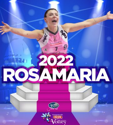 A Novara arriva l'opposto Rosamaria Montibeller. un tocco carioca per la nuova Igor