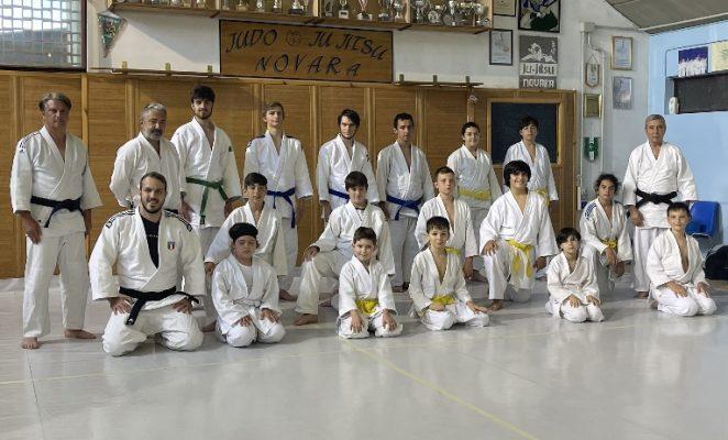 Judo Ju Jitsu Novara esami cintura 2021