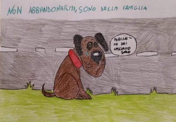 """Campagna ANPANA ed ENPA contro l'abbandono degli animali: """"Non abbandonarmi sono della famiglia"""""""
