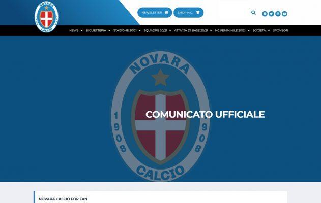 Agonia Novara calcio: dal fantomatico ricorso al TAR alle minacce di denunce e querele