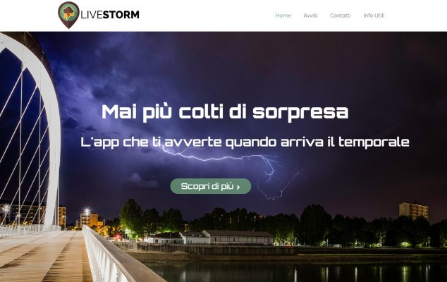 Livestorm app temporale grandine Regione Piemonte