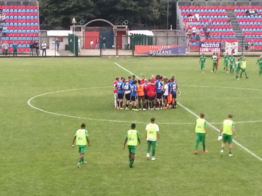 Coppa Italia serie D Gozzano Novara Fc 0-2