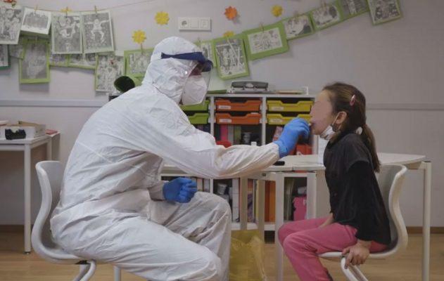 test salivari antigenici rapidi ASL Novara scuole