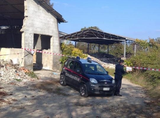 Discarica abusiva sequestrata a Borgo Ticino con 3000 mc di rifiuti anche pericolosi